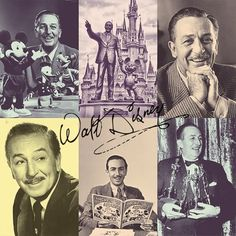 Walt Disney photo tribute.