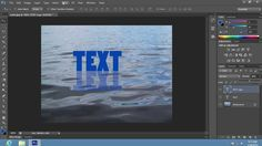 How to Make Object Water Reflection in Photoshop CS6