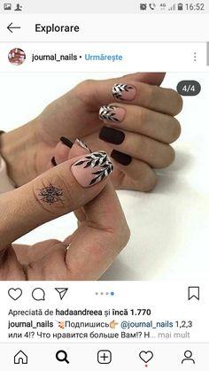 Manicure, Gelish Nails, Matte Nails, Black Nails, Fun Nails, Pretty Nails, Elegant Nail Art, Dream Nails, Cute Nail Designs