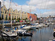 Pleasure Boats at Galway Docks
