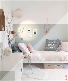 Push teen girl bedrooms charming project idea number 4588432426 now. … - bedroom furniture for teens Scandi Bedroom, Shabby Chic Bedrooms, Bedroom Decor, Sage Bedroom, Teen Girl Bedrooms, Tiny Girls Bedroom, Room Themes, Girl Room, Baby Room