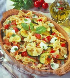 Mozzarella, Pasta Salad, Food And Drink, Vegan, Ethnic Recipes, Crab Pasta Salad, Vegans