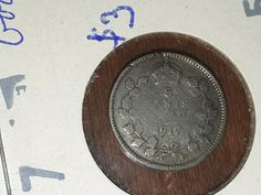 Canada Newfoundland 1917 5 Cents Very Very Choice AU 5 Cents, King George, Newfoundland, Silver Coins, Ebay, Personalized Items, Silver Quarters, Newfoundland Dogs