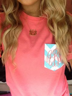 "Because the whole ""Southern Prep"" thing is SO popular :) I want this shirt so cute!!"