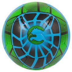 ProCat by Puma size 5 Soccer Ball - Black/Blue/Green,