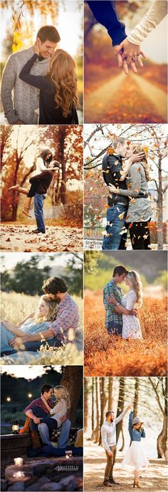 Engagement Photos » 23 Creative Fall Engagement Photo Shoots Ideas I Should've Had Myself! » ❤️