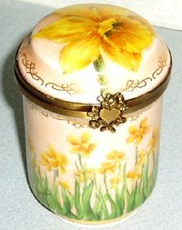 Limoges Porcelain Boxes French Gifts Limoges France Porcelain