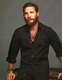 Tom Hardy- I love a man that can wear a grizzly beard! YUM!