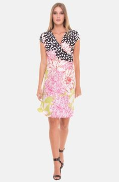 Olian Floral Print Maternity Dress available at #Nordstrom