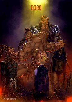 Mortal Kombat X Goro by Grapiqkad on DeviantArt