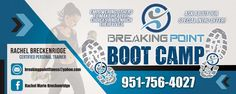 Breaking Point Boot Camp banner