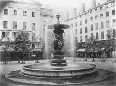 Fontaine monumentale de la place des Célestins fonds Jules Sylvestre (1859-1936)