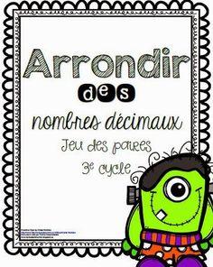 Bonjour, Aujourd'hui, je vous apporte quelques petites activités de surplus pour enseigner l'arrondissement des nombres décimaux. Je dis...
