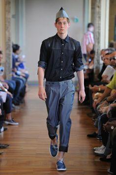 Andrea Incontri - Men Fashion Spring Summer 2014 - Shows - Vogue.it
