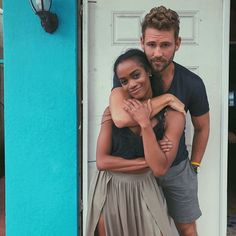 Rachel Lindsay -- 'The Bachelor' Nick Viall: Race never seemed to matter it's secondary to our connection Rachel Lindsay's hometown date was a definite for The Bachelor star Nick Viall and he knew that even before his one-on-one date with her in Bimini.