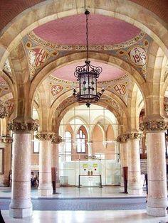 Hospital de Sant Pau #Barcelona #welovebarcelona #HospitalSantPau
