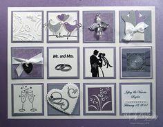 Wedding gift collage frame | Stamping Styles: Wedding Collage