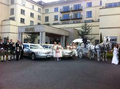 limousine-knightsbrook-hotel-trim Stretch Limo, Wedding Car Hire, Mercedes E Class, Party Bus, Dublin Ireland, Buses, Modern, Trendy Tree