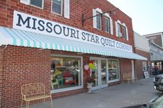 Missouri Star Quilt Co. Ok i love them. It would be cool to visit some day!