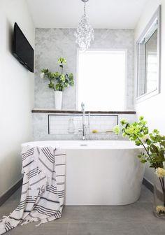 Client Project: JW Bathroom Remodel – Beginning in the Middle Mold In Bathroom, Bathroom Faucets, Master Bathroom, Bathtub, Upstairs Bathrooms, Small Bathroom, Widespread Bathroom Faucet, Bathroom Inspiration, Bathroom Ideas