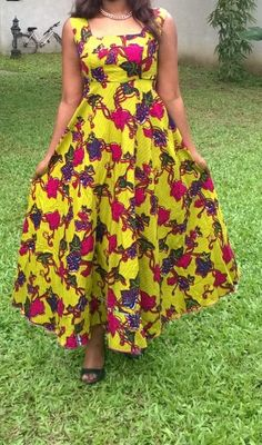 Longue robe pagne 2016 African Attire, African Wear, African Women, African Dress, African Outfits, Ankara Styles For Women, Kente Styles, Latest African Fashion Dresses, African Print Fashion