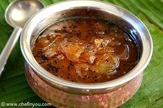 Mango Pachadi Recipe | Green Mango Chutney Recipe