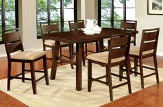 Dwayne II 5 Pcs Counter Ht. Table Dining Set CM3915PT+ CM3915PC-2PK
