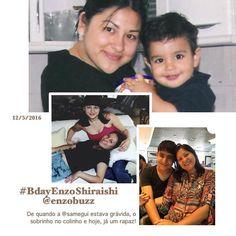 Porque ainda tenho alguns minutos pra parabenizar meu sobrinho afilhado mais uma vez!!  #shiraishis #maecomfilhos #bdayEnzoShiraishi #momlife #tiffanysfeelings
