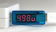 AboveTEK® USB Voltage Current Multimeter | Geek Armory