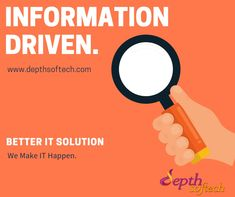 We @ Depthsoftech provide the best IT solution for the brands that needs more business online. Check out our Services Online Check, Web Development Company, Online Business, Seo, Wordpress, Social Media, Website, Social Networks, Social Media Tips