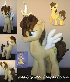 OC Cloversong plush by agatrix.deviantart.com on @DeviantArt