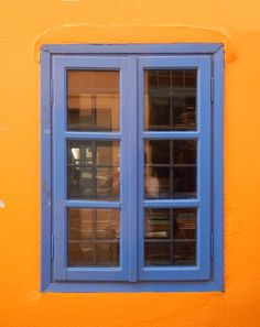 greek window blue