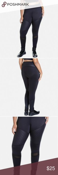 *FTF* Plus Size Throttle Active Moto Leggings Power through your workout in pure style with the Throttle plus size leggings, a moto-inspired pair that features angled stitching and breathable mesh panels. Sold out online! They are a little to loose for me. I'm between a 1 and a 2 at FTF. Fashion to Figure Pants Leggings