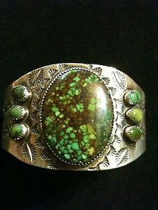 "Native American Hallmarks Old Pawn | Details about Native American Navajo Turquoise ""Old Pawn"" Cuff ..."