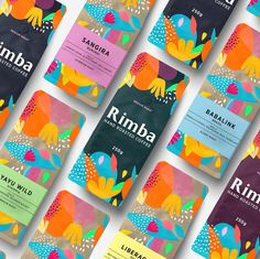 Rimba Hand Roasted Coffee Branding designed by Dmitry Kropachev. the global community for designers and creative professionals. Best Chocolate Brands, Brazil Coffee, Packaging Design, Branding Design, Cookie Packaging, Food Packaging, Chocolate Packaging, Coffee Branding, Coffee Design