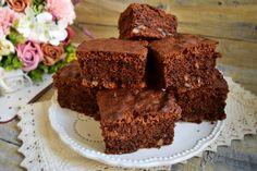 Negresă cu ciocolată și nuci - Brownie - Rețete Fel de Fel Desserts, Tailgate Desserts, Deserts, Postres, Dessert, Plated Desserts
