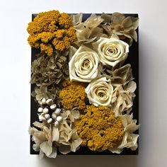 Preserved & Dried Flower Frame  Preserved roses by MochisFlowers