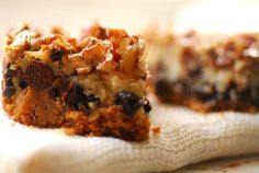 Hello Dolly Bars from Homesick Texan. If they don't make your sweet tooth ache, you are doing something wrong.
