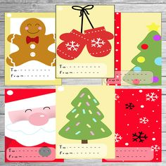 Christmas Gift Tag Printable