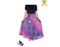 Women's Long Purple Maxi Skirt  Bohemian Gypsy Hippie | Etsy Women's Long Purple Maxi Skirt Bohemian Gypsy Hippie | Etsy<br> Purple Maxi Skirts, Long Maxi Skirts, Bohemian Gypsy, Bohemian Style, Hippie Style Clothing, Dress Outfits, Dress Clothes, Dresses, Boho Fashion
