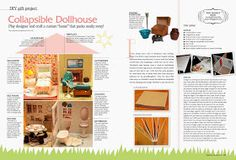 Second Chances by Susan: Collapsible Dollhouse