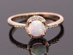 Genuine Opal Rings