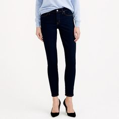 Toothpick Cone Denim® jean in classic rinse | JCrew