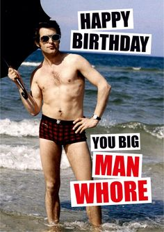 The Best Happy Birthday Memes - Happy Birthday Funny - Funny Birthday meme - - Happy Birthday you big Man Whore The post The Best Happy Birthday Memes appeared first on Gag Dad. Birthday Memes For Him, Funny Happy Birthday Meme, Happy Birthday For Him, Funny Happy Birthday Pictures, Happy Birthday Quotes, Birthday Love, Funny Birthday Cards, Happy Birthday Wishes, Birthday Greetings