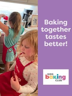 We're teaching kids the art of baking & decorating. Join the Project Learning Movement for your kids & grandkids! KidsBakingClub.com