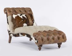 Victoria Tuft Settee/Chaise by Paul Robert