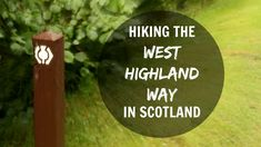 You don't need any prior experience to walk the West Highland Way, other than being in good health. I did it as a complete newbie and I managed. The trail is well-marked and there's so many people doing this trek that, if you run into trouble while being alone, you would only have to wait for about 10 minutes before another hiker shows up. That's how long I had to wait in September when I felt skittish about going alone through some Highland Cattle that blocked the trail.