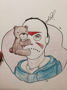 Look at this amazing fanart made for H2ODelirious and Teddy by smoshlilyy on Twitter!=D