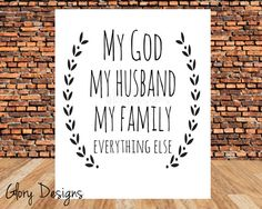 Hey, I found this really awesome Etsy listing at https://www.etsy.com/listing/176109544/instant-download-priorities-my-god-my