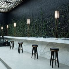 Beefbar Monaco designed studio Humbert et Poyet, who was also involved in interior decoration first BeefBar - in Mexico City.